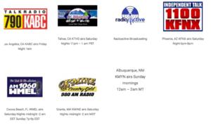 Late Night Health Radio Stations